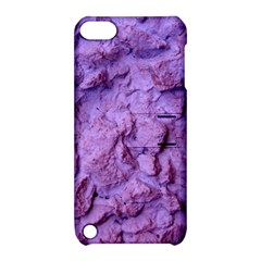Purple Wall Background Apple Ipod Touch 5 Hardshell Case With Stand by Costasonlineshop