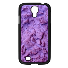 Purple Wall Background Samsung Galaxy S4 I9500/ I9505 Case (black) by Costasonlineshop