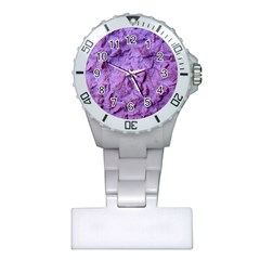 Purple Wall Background Nurses Watches by Costasonlineshop