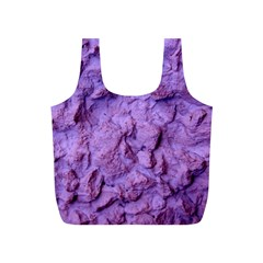 Purple Wall Background Full Print Recycle Bags (s)  by Costasonlineshop
