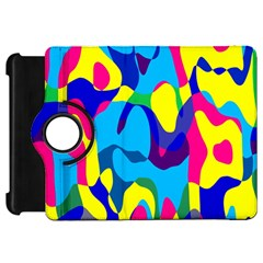 Colorful Chaos			kindle Fire Hd Flip 360 Case by LalyLauraFLM