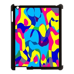 Colorful Chaosapple Ipad 3/4 Case (black) by LalyLauraFLM