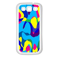 Colorful Chaos			samsung Galaxy S3 Back Case (white) by LalyLauraFLM