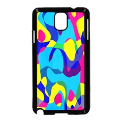 Colorful Chaos			samsung Galaxy Note 3 Neo Hardshell Case (black) by LalyLauraFLM