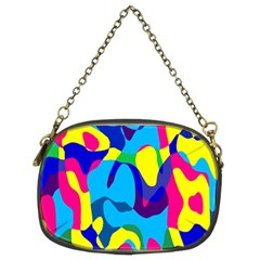 Colorful Chaos chain Purse (two Sides) by LalyLauraFLM