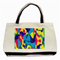 Colorful Chaos			basic Tote Bag by LalyLauraFLM