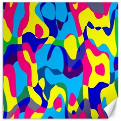 Colorful Chaos			canvas 20  X 20  by LalyLauraFLM
