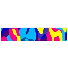 Colorful Chaos Flano Scarf by LalyLauraFLM