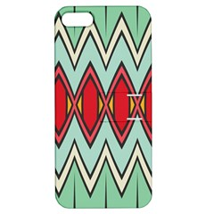 Rhombus And Chevrons Pattern			apple Iphone 5 Hardshell Case With Stand by LalyLauraFLM