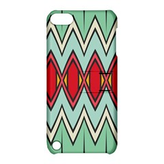 Rhombus And Chevrons Pattern			apple Ipod Touch 5 Hardshell Case With Stand by LalyLauraFLM