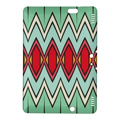 Rhombus And Chevrons Patternkindle Fire Hdx 8 9  Hardshell Case by LalyLauraFLM