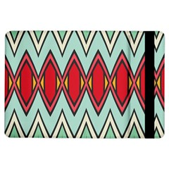 Rhombus and chevrons pattern			Apple iPad Air Flip Case by LalyLauraFLM