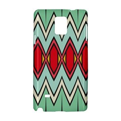 Rhombus And Chevrons Pattern			samsung Galaxy Note 4 Hardshell Case by LalyLauraFLM