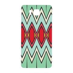 Rhombus And Chevrons Pattern			samsung Galaxy Alpha Hardshell Back Case by LalyLauraFLM