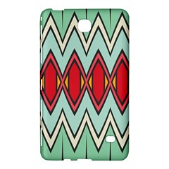 Rhombus And Chevrons Pattern			samsung Galaxy Tab 4 (7 ) Hardshell Case by LalyLauraFLM