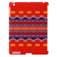 Rhombus Rectangles And Triangles			apple Ipad 3/4 Hardshell Case (compatible With Smart Cover) by LalyLauraFLM