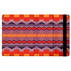 Rhombus Rectangles And Triangles			apple Ipad 3/4 Flip Case by LalyLauraFLM