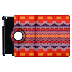 Rhombus Rectangles And Triangles			apple Ipad 2 Flip 360 Case by LalyLauraFLM