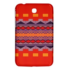 Rhombus Rectangles And Trianglessamsung Galaxy Tab 3 (7 ) P3200 Hardshell Case by LalyLauraFLM
