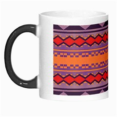 Rhombus Rectangles And Triangles Morph Mug by LalyLauraFLM