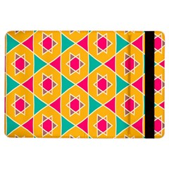 Colorful Stars Pattern			apple Ipad Air Flip Case by LalyLauraFLM