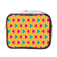 Colorful Stars Patternmini Toiletries Bag (one Side) by LalyLauraFLM