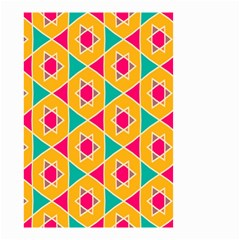 Colorful Stars Pattern Small Garden Flag by LalyLauraFLM