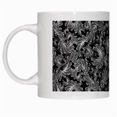 Luxury Patterned Modern Baroque White Mugs by dflcprints