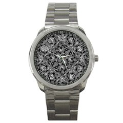 Luxury Patterned Modern Baroque Sport Metal Watches by dflcprints