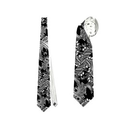 Luxury Patterned Modern Baroque Neckties (one Side)  by dflcprints