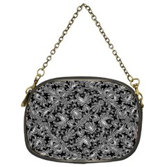 Luxury Patterned Modern Baroque Chain Purses (one Side)  by dflcprints
