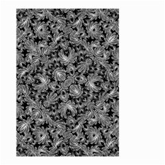 Luxury Patterned Modern Baroque Small Garden Flag (two Sides) by dflcprints