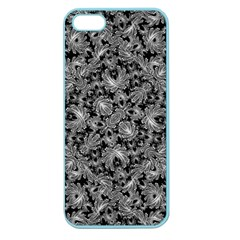 Luxury Patterned Modern Baroque Apple Seamless Iphone 5 Case (color) by dflcprints