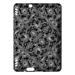 Luxury Patterned Modern Baroque Kindle Fire Hdx Hardshell Case by dflcprints
