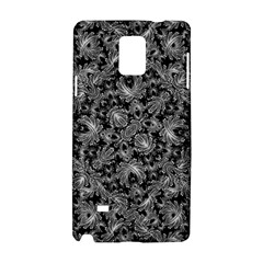 Luxury Patterned Modern Baroque Samsung Galaxy Note 4 Hardshell Case by dflcprints