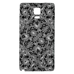 Luxury Patterned Modern Baroque Galaxy Note 4 Back Case by dflcprints