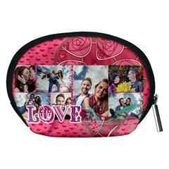 Love By Love   Accessory Pouch (medium)   4l0chofa0yhl   Www Artscow Com Back