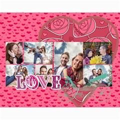 Love By Love   Collage 11  X 14    Ipda3pyz6w3m   Www Artscow Com 14 x11 Print - 1