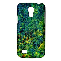 Flowers Abstract Yellow Green Galaxy S4 Mini by Costasonlineshop