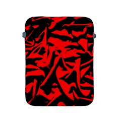 Red Black Retro Pattern Apple Ipad 2/3/4 Protective Soft Cases