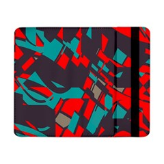 Red blue pieces			Samsung Galaxy Tab Pro 8.4  Flip Case by LalyLauraFLM
