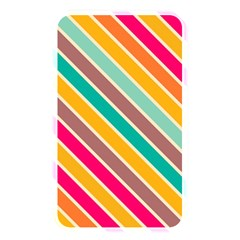 Colorful Diagonal Stripes			memory Card Reader (rectangular) by LalyLauraFLM
