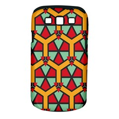 Honeycombs Triangles And Other Shapes Pattern			samsung Galaxy S Iii Classic Hardshell Case (pc+silicone) by LalyLauraFLM