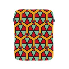 Honeycombs Triangles And Other Shapes Patternapple Ipad 2/3/4 Protective Soft Case by LalyLauraFLM