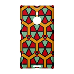 Honeycombs Triangles And Other Shapes Pattern			nokia Lumia 1520 Hardshell Case by LalyLauraFLM