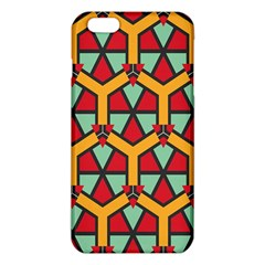 Honeycombs Triangles And Other Shapes Patterniphone 6 Plus/6s Plus Tpu Case by LalyLauraFLM