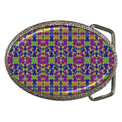 Ethnic Modern Geometric Pattern Belt Buckles by dflcprints