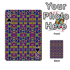 Ethnic Modern Geometric Pattern Playing Cards 54 Designs  by dflcprints