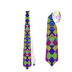 Ethnic Modern Geometric Pattern Neckties (Two Side)  by dflcprints