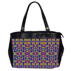 Ethnic Modern Geometric Pattern Office Handbags (2 Sides)  by dflcprints